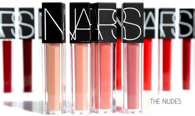 NARS Velvet Lip Glide The Nudes