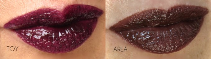 NARS Velvet Lip Glide the Darks swatches