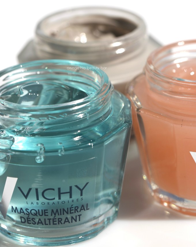 Vichy Mineral Masks closer