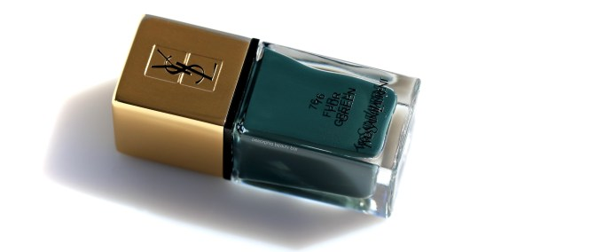 YSL Fur Green 2 Scandal Collection