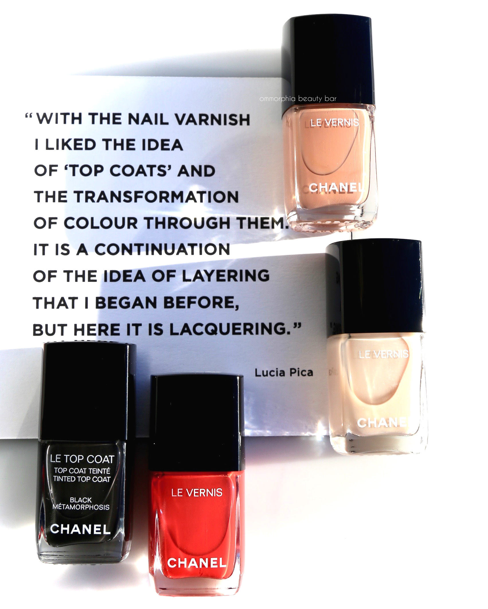 CHANEL SS/17 · Le Vernis Coco Codes Collection