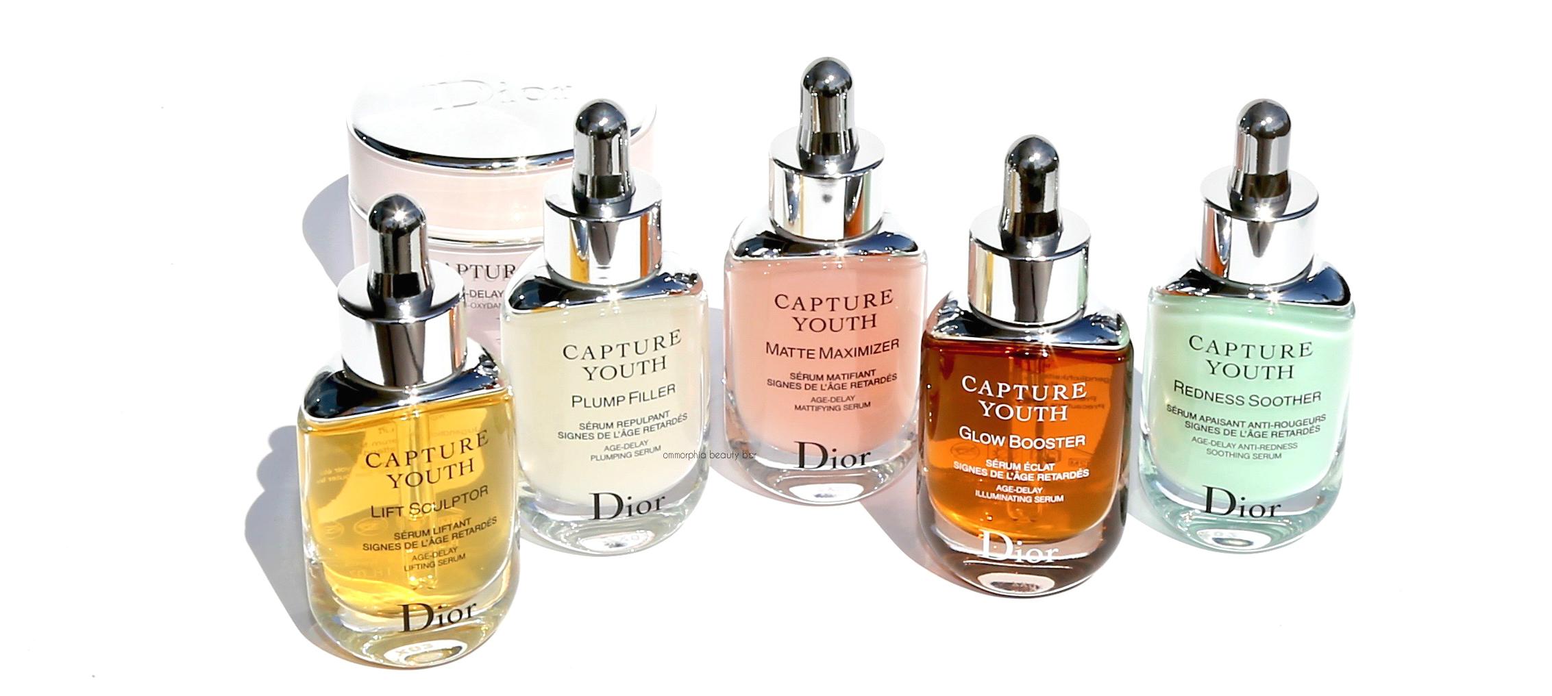 f9667aff Dior · Capture Youth Serums & Age-Delay Advanced Cream | ommorphia ...