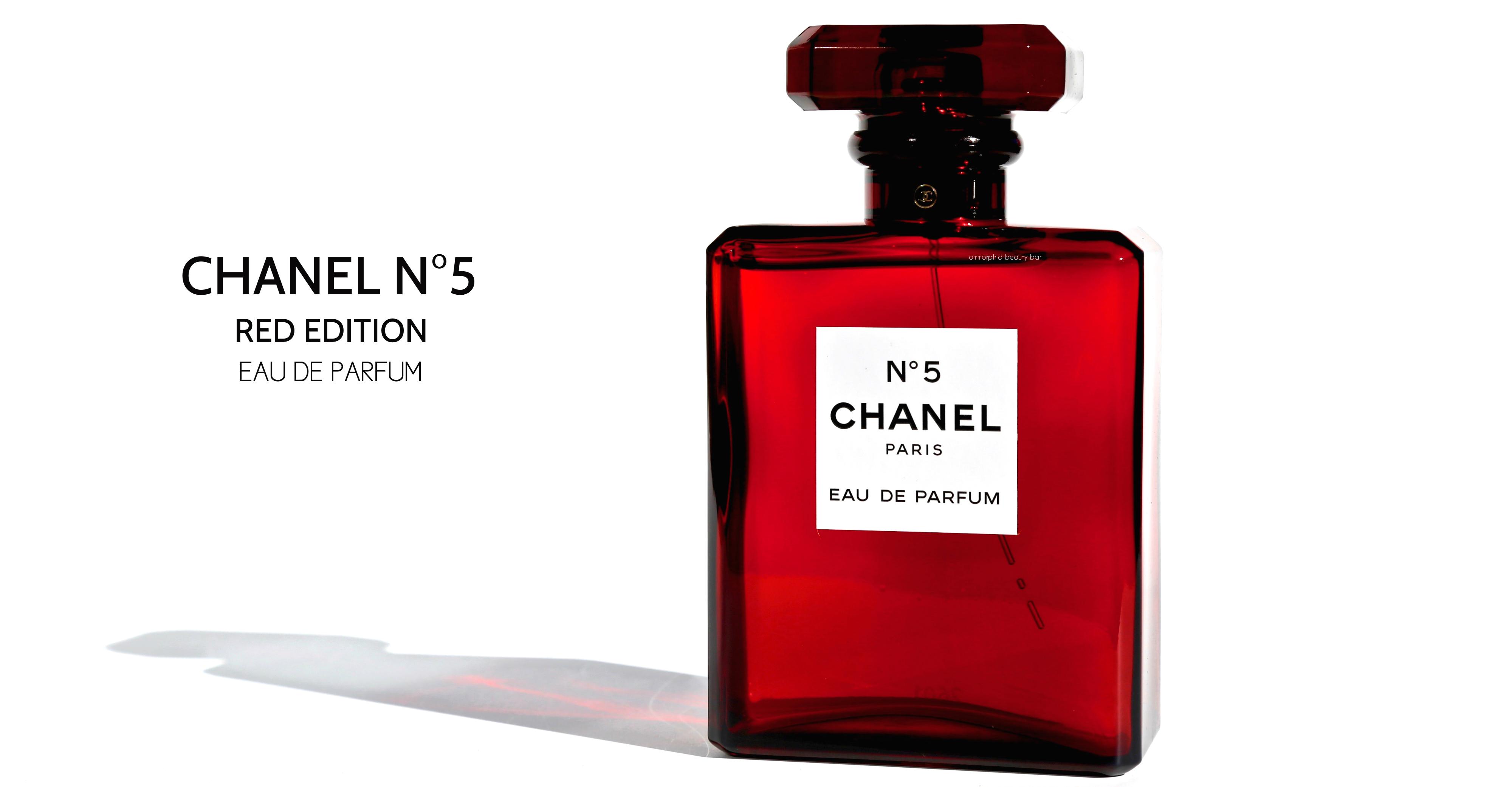 Chanel N5 Red Edition Eau De Parfum Ommorphia Beauty Bar