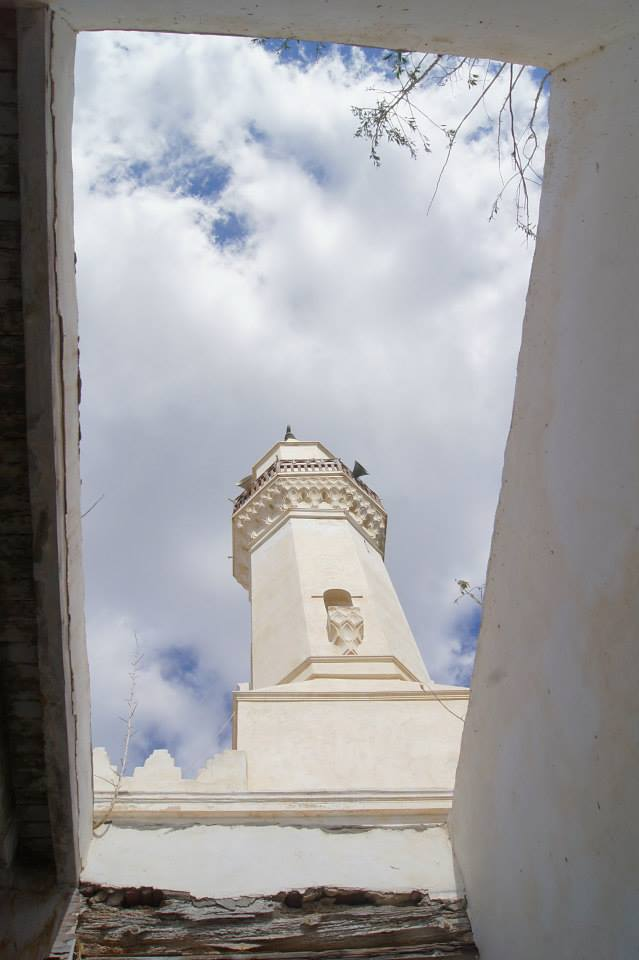 The minaret of Abu Mandur Mosque, Rosetta