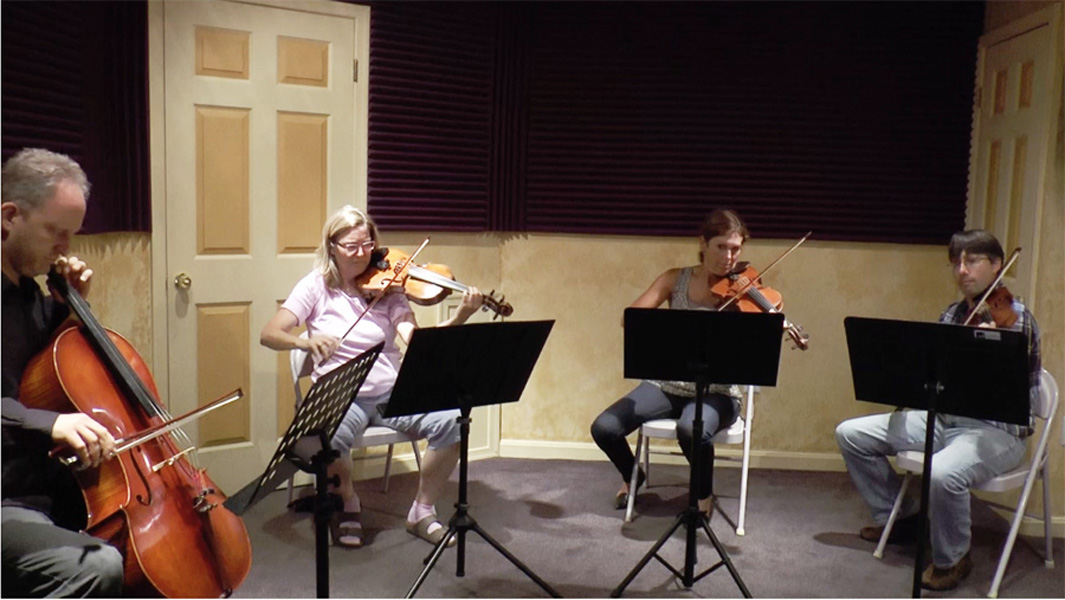 String Quartet for an arrangement