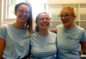 Ellie Snow, Becki Short and Emmie-Jayne Atkinson: OmniArts Performing Arts Practitioners
