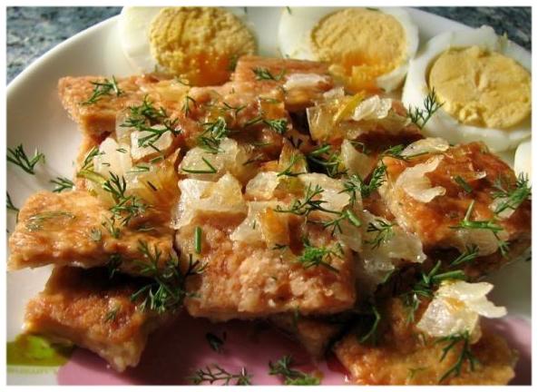картофель блюдо лук