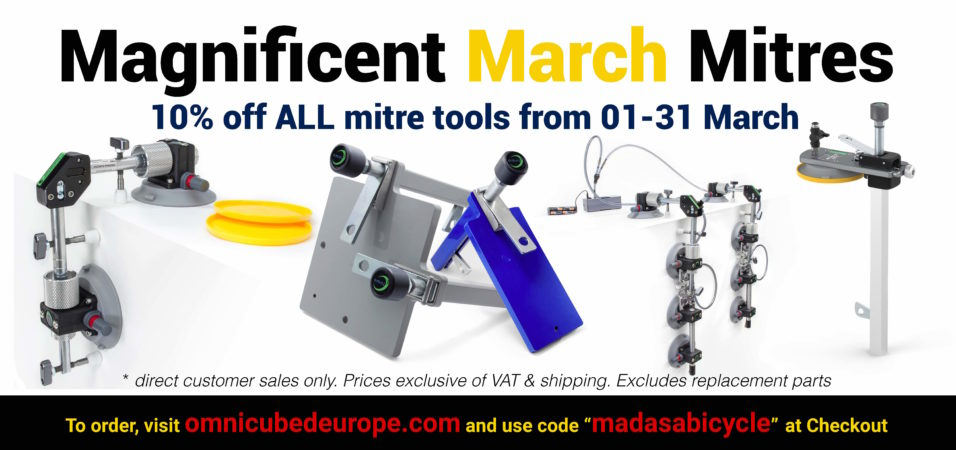 10% off all mitre tools