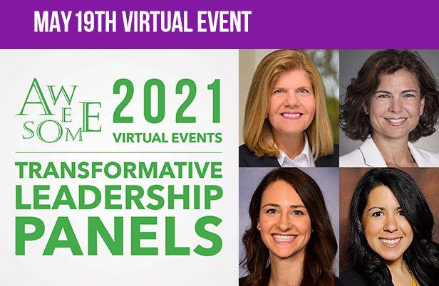 AWE  2021 Transformative  Leadership Panels