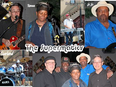 The SuperMatics Kansas City Variety Band booking information 816-734-4558 / formerly The AutoMatics