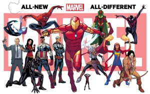 """MARVEL'S """"ALL-DIFFERENT"""" UNIVERSE will bring new character and re-invent old ones"""