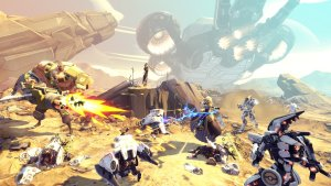 Battleborn offers command over 25 unique heroes and fight alone or alongside friends in Co-Op