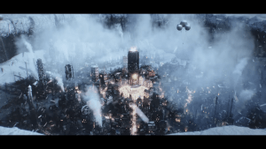 """Frostpunk Trailer: """"Whiteout"""" – A New Game By The Creators of This War of Mine."""