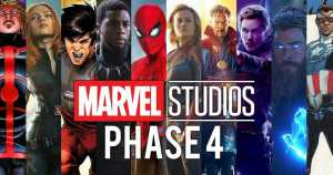 PHASE 4 Of The MCU Has Been Revealed And It's Quite The Line Up!