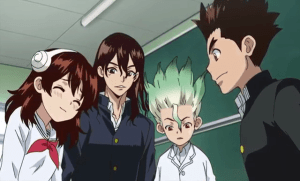 Dr. STONE Episode 5 – Stone World The Beginning Review