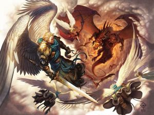 Why Are Angels In Video Games (Anime & Movies Too) Protrayed Lesser Than Demons?