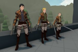 Roark's Attack on Titan: A Fun Multiplayer Fan Game That Pits Humans Against Each Other!