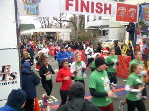 Bill Rodgers Jingle Bell Run 5K, Somerville