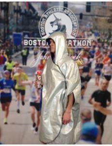 boston marathon, baggage policy, runner