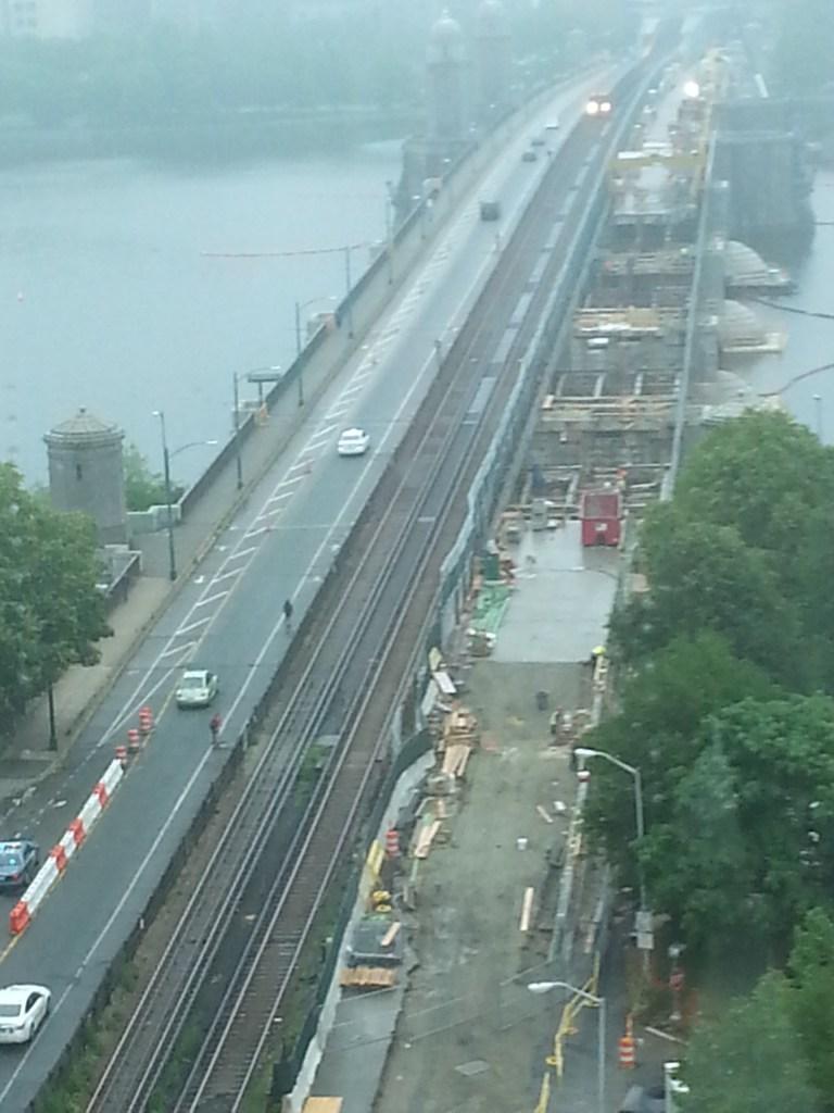 longfellow bridge construction