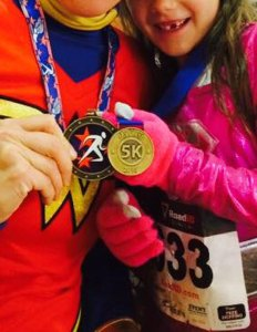 first 5k medal, medals for children