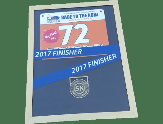 My First 5K Running Medal Display Frame - Omni Running