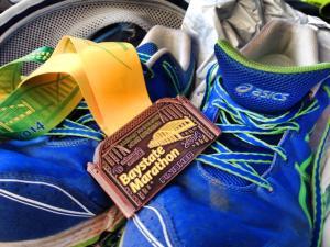 baystate marathon, marathon medal