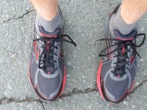 Brooks adrenaline ASR, gore-tex, winter running