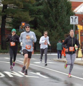 thanksgiving races, cold weather running