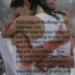 running, goals