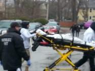 Boston Marathon. medical assistance