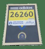 Boston Marathon, medal display