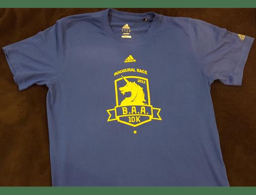 BAA 10K 2011, BAA 10K shirt