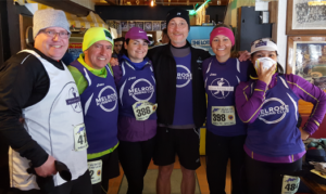 April Fools 4 miler, Melrose Running Club