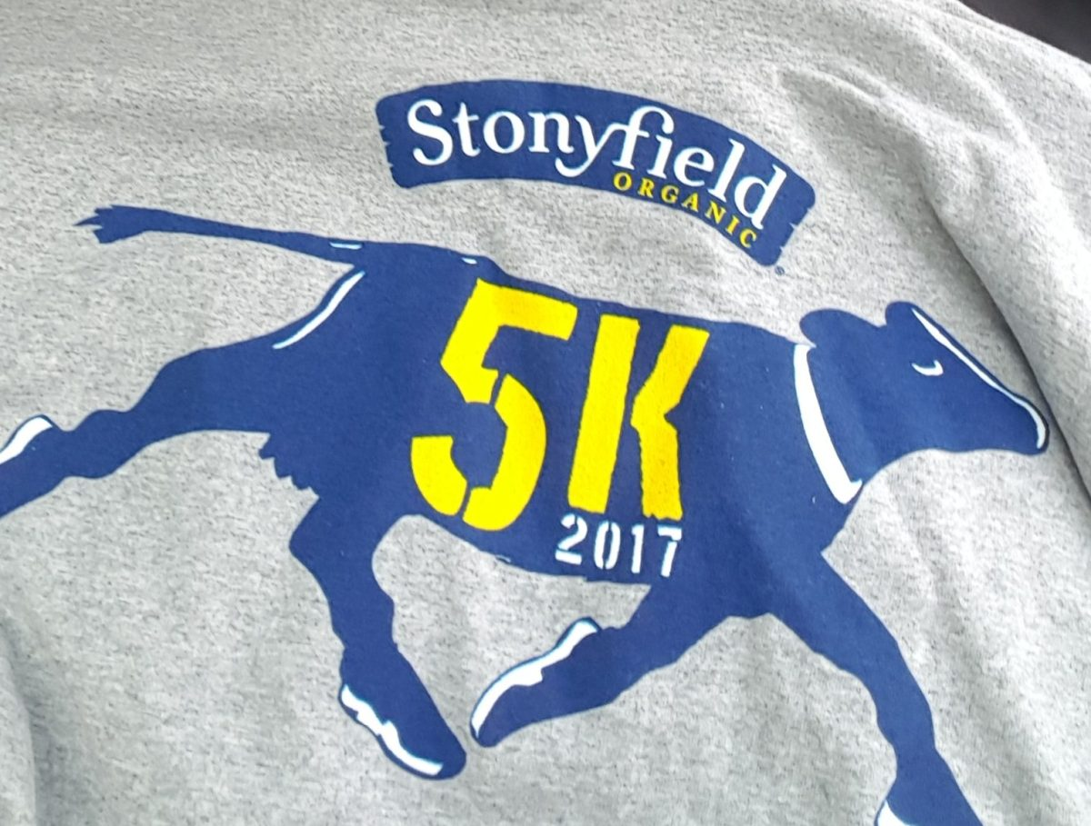 Stonyfield 5K 2017 Londonderry New Hampshire
