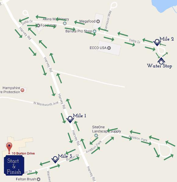 stonyfield 5K, londonderry 5k race