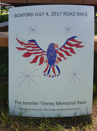 Running Jennifer Tinney Road Race 2017