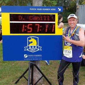 Diarmuid Cahill, BAA Half Marathon 2017