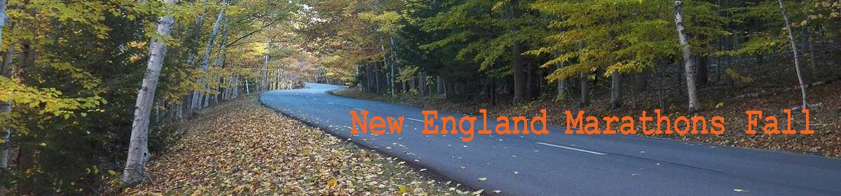 New England Marathons Fall 2020