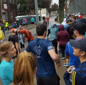 Cambridge Half Marathon 2017, porta potties