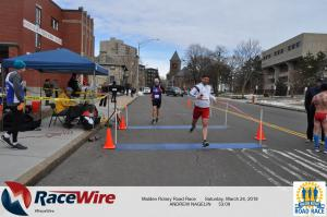 Malden Rotary Road Race 10K, Andy Nagelin