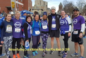 Malden Rotary Road Rac e 2018, Melrose Running Club, local 5k race directories