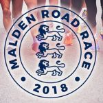 Malden Road Race 10K 2018 logo