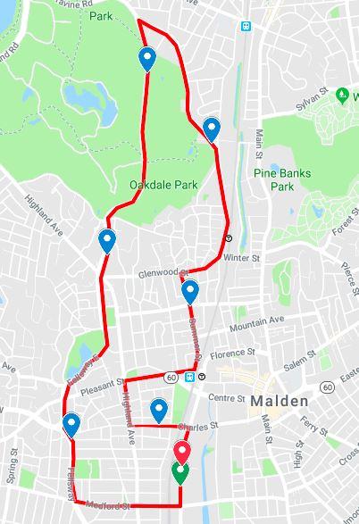 Malden Road Race 10K