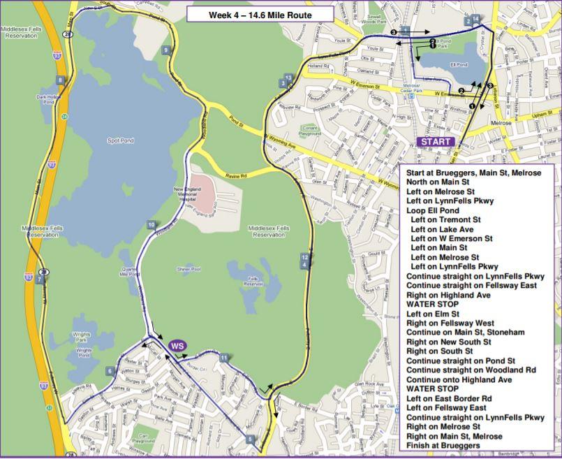 Sunday Long Run Seven, summer marathon training