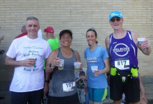 Malden Irish American 10K, Melrose Running Club