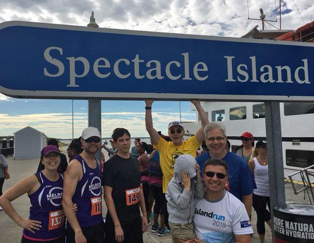Melrose Running Club, Blue Cross Blue Shield Island Run 2018