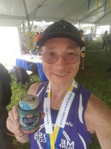 BAA Half Marathon 2018, Distance Medley VIP tent