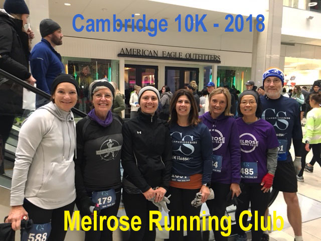 CambridgeSide 10K Classic 2018, Melrose Running Club, Andy Nagelin