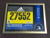 Boston Marathon 2019 running medal frame